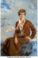 Amelia Earhart, Town and Country cover