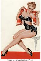 Silk Stockings and High Heels, Wink cover